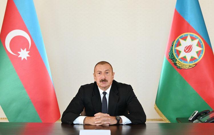 President Ilham Aliyev appealed to Azerbaijani people