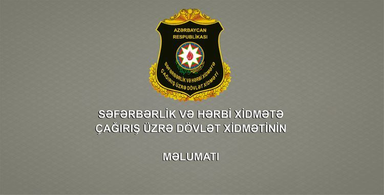 State Service: Many appeals received from Azerbaijani citizens, who want to go to battle