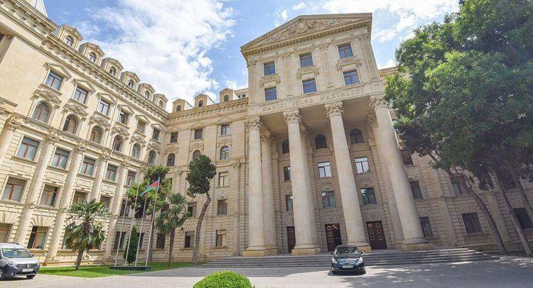 Azerbaijani MFA issues statement
