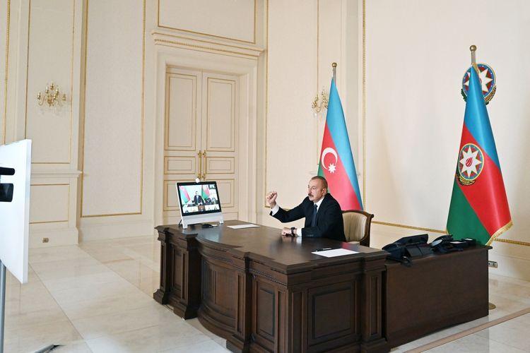 """Azərbaycan Prezidenti: """"Bütün hərbi hissələrimizdə, hərbi birləşmələrimizdə ruh yüksəkliyi var"""""""