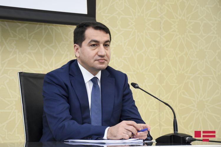 "Hikmat Hajiyev: ""Occupation of new territories envisaged in Armenia"