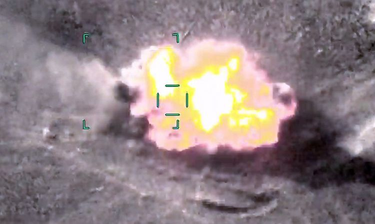 Azerbaijani MoD: The two more enemy tanks were destroyed - VIDEO