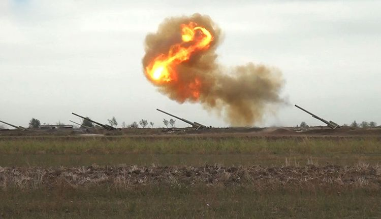 MoD: Enemy artillery units in the Aghdara direction were hit - <span class=