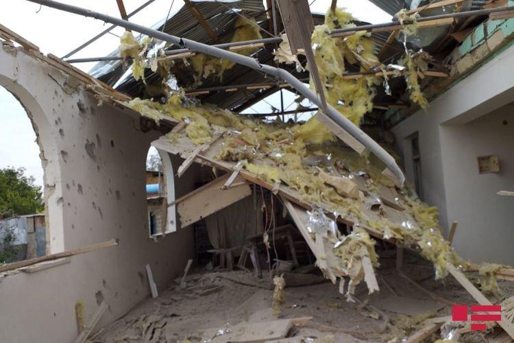 Armenians shelled residential settlement in Azerbaijan's Agdam