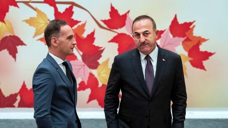Turkish, German FMs discuss the situation in Nagorno Garabagh