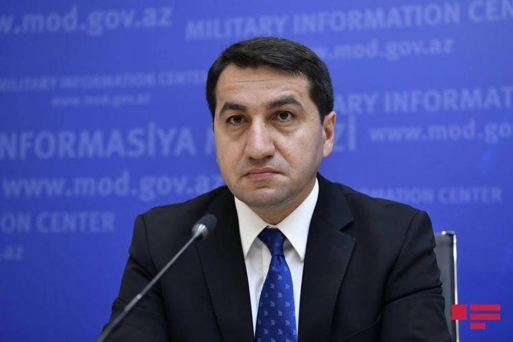 """Hikmat Hajiyev: """"Armenia"""