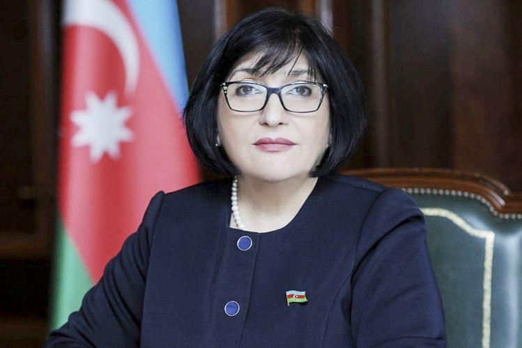 Sahiba Gafarova thanked Turkey's parties supporting Azerbaijan