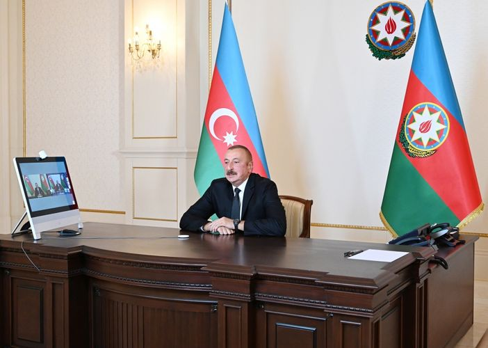 """President Ilham Aliyev responded to questions on Rossiya-1 TV channel's """"60 minutes"""" program"""