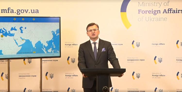 Ukraine supports territorial integrity of Azerbaijan: Kuleba
