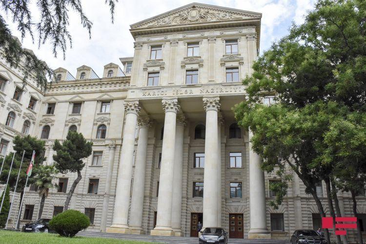 Azerbaijani MFA: Armenia