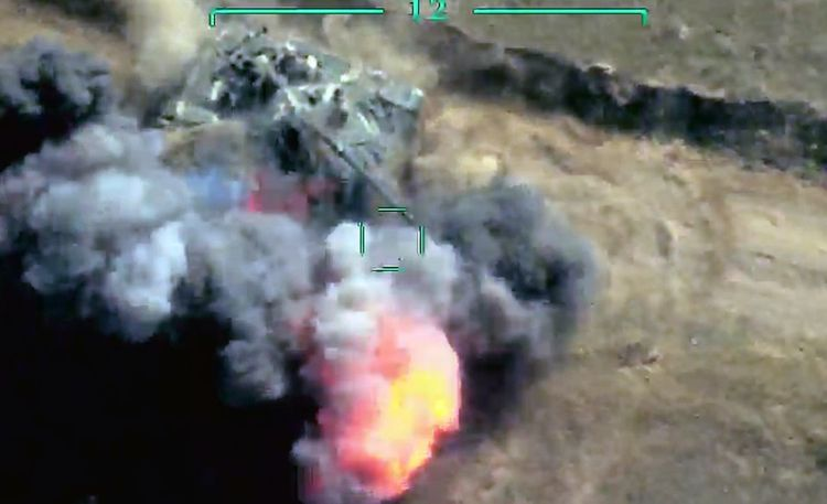 The two tanks of the enemy were destroyed in Tonashen - VIDEO