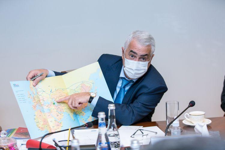 """""""Azərbaycan Dəmir Yolları"""" QSC-nin Müşahidə Şurasının ilk iclası keçirilib"""