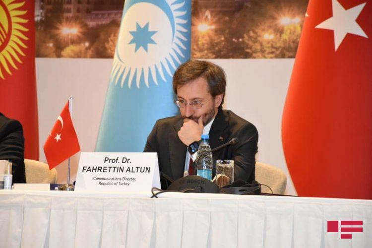 """Fəxrəddin Altun: """"Türk dünyasının yeni təhdidlər qarşısında birlik olması bir məcburiyyətdir"""""""