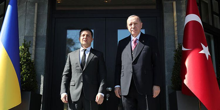 В Стамбуле проходит встреча Эрдогана с Зеленским