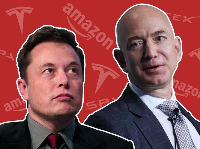 Bezos, Musk top Forbes