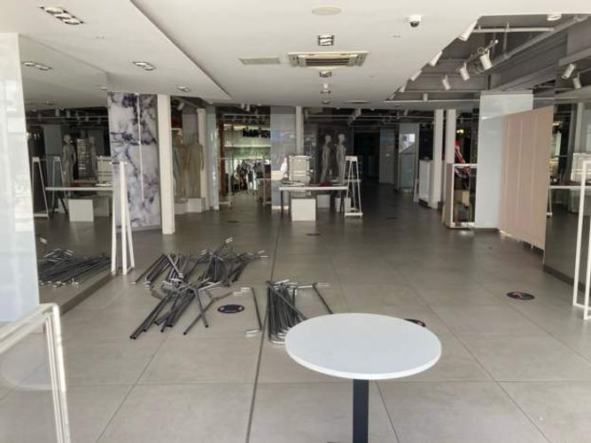 Empty stores a reminder of the pandemic