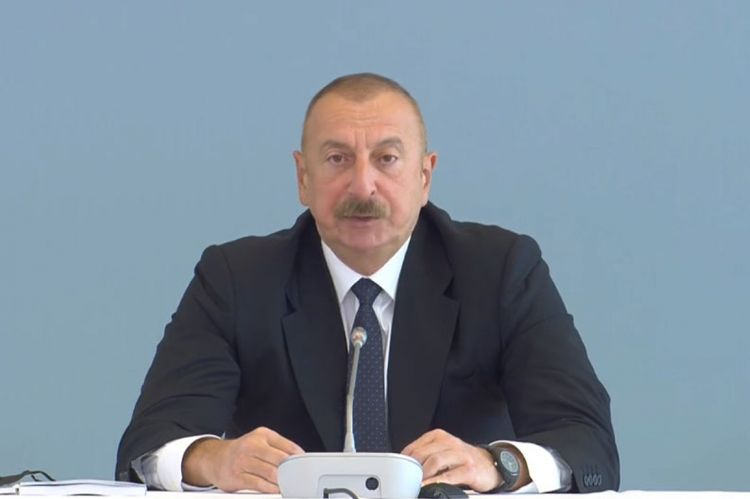 """Azərbaycan Prezidenti: """"Biz erməni ordusunun törətdiyi vəhşilikləri, Xocalı soyqırımını unuda bilmərik"""""""