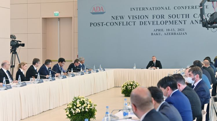 President Ilham Aliyev: Armenians did it deliberately in order to erase the legacy of Azerbaijani culture in order to erase these territories from our memories