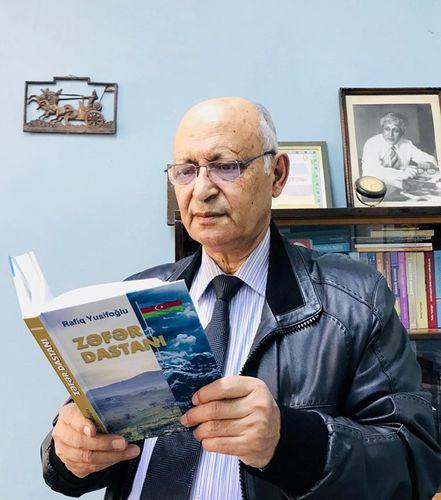 """""""Zəfər Dastanı"""" kitabı çap olunub"""