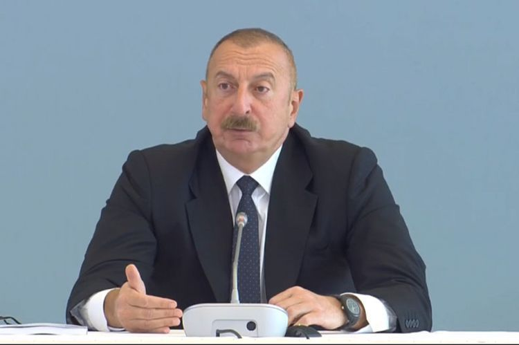 """Azerbaijani President: """"We do not know what is the position of the US government on issue related  to our region"""""""