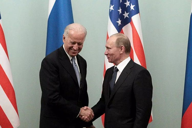 Biden proposed a summit meeting in a third country