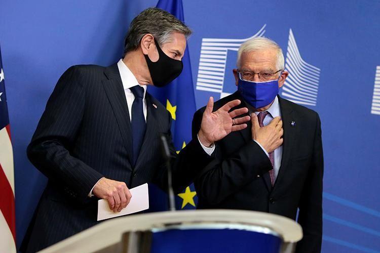 Borrell və Blinken Ukrayna, Əfqanıstan və İranla bağlı müzakirələr aparıblar