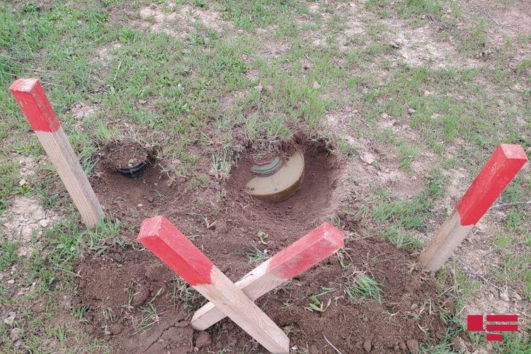 Bu il Ağdam ərazisində 332 mina və 1251 partlamamış hərbi sursat aşkarlanıb