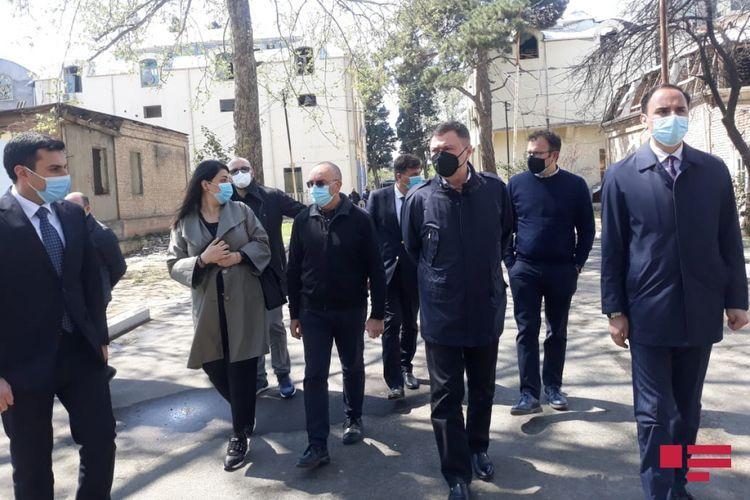 Members of Italian Senate visit area shelled by Armenia in Ganja  - <span class='red_color'>PHOTO</span>