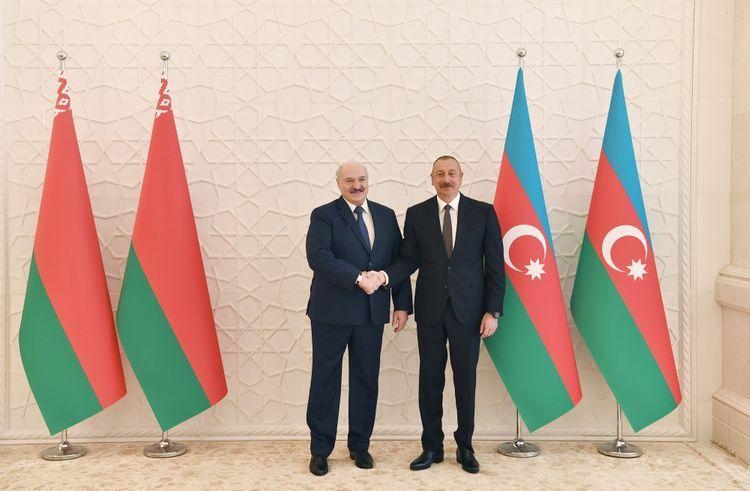 "President Ilham Aliyev: ""Azerbaijan-Belarus relations are far from any problems"""