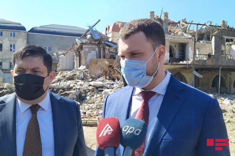"""Ukraynalı nazir: """"Azad olunmuş ərazilərin bərpası prosesinə qoşulacağıq"""""""