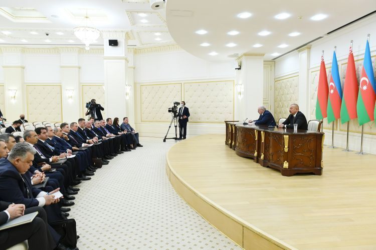 Alexander Lukashenko: Information that some Azerbaijanis mock the Armenians – I do not know of such examples