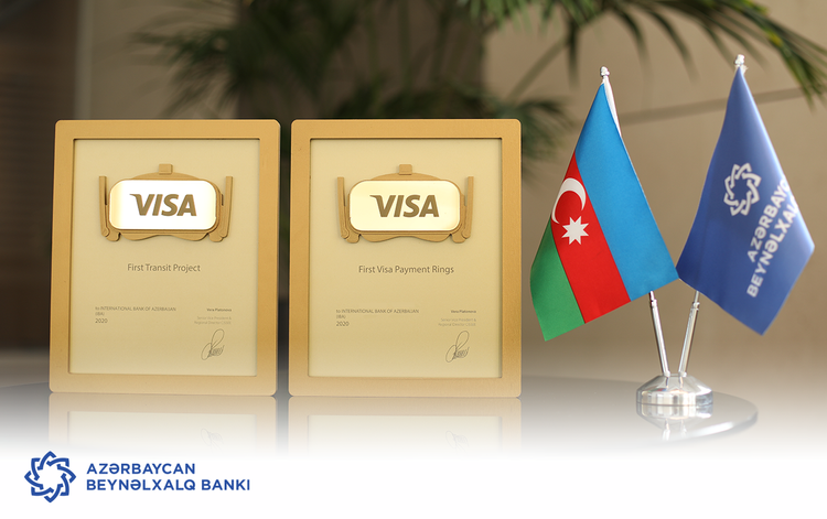 """""""Visa"""" Azərbaycan Beynəlxalq Bankını iki dəfə mükafatlandırıb"""