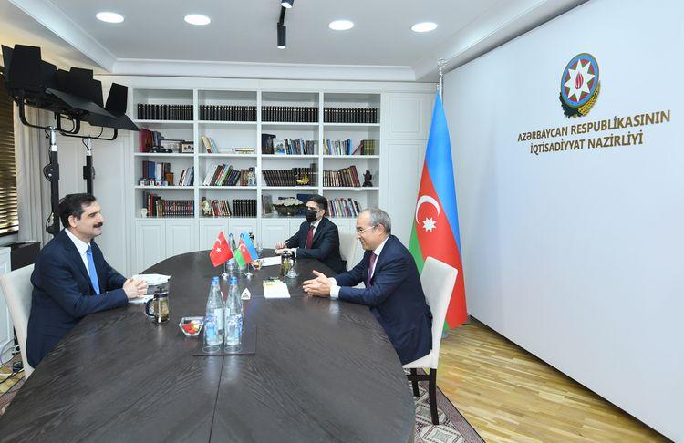 """Nazir: """"Azərbaycan və Türkiyə arasında Preferensial Ticarət Sazişi ticarət əlaqələrini genişləndirəcək"""""""