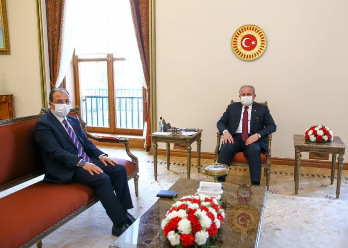Speaker of Turkish Grand National Assembly meets newly appointed Turkish Ambassador to Azerbaijan