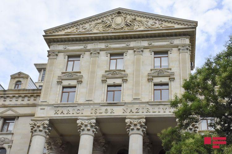 Azerbaijani MFA responds to Armenian PM