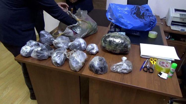Полиция изъяла из оборота 68 кг наркотиков - <span class='red_color'>ВИДЕО</span>