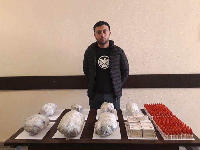 ГПС предотвратила контрабанду в Азербайджан наркотиков и лекарств