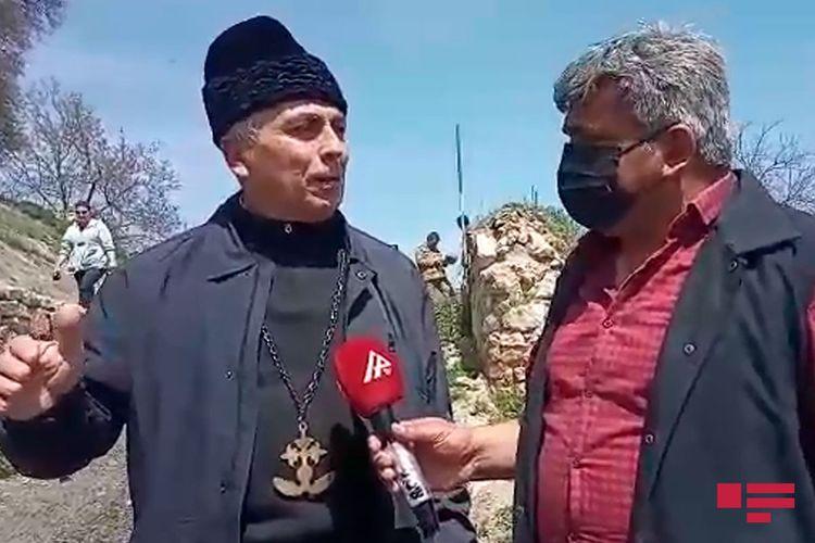"""Robert Mobili: """"Ermənilər alban məbədlərini dağıdıb, saxtalaşdırıblar"""""""