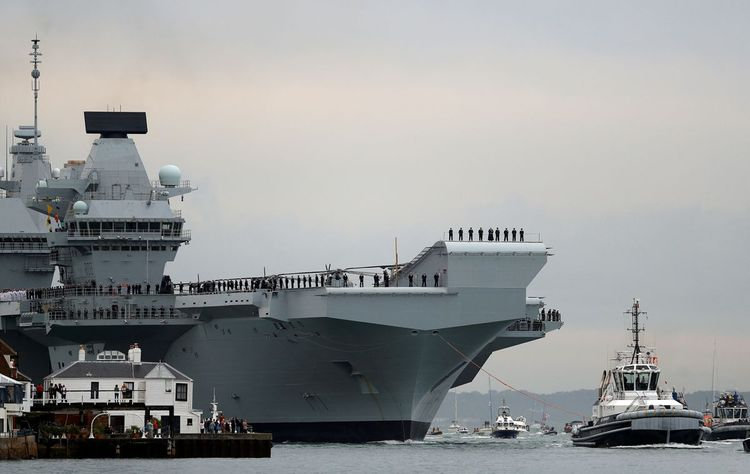 UK warships to sail for Black Sea in May as Ukraine-Russia tensions rise