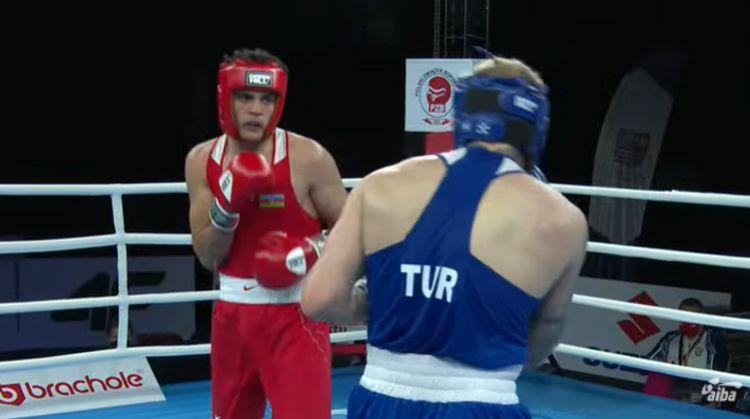 Azərbaycan millisinin daha bir boksçusu dünya birinciliyində qələbə qazanıb