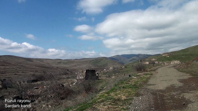 Село Сардарлы Физулинского района - <span class=
