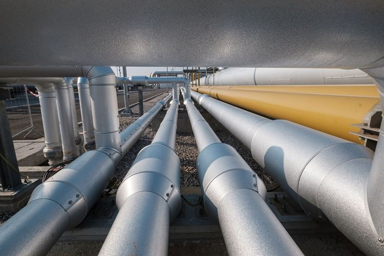 Azerbaijan exported more than 550 mln. cubic metres of gas to Europe this year