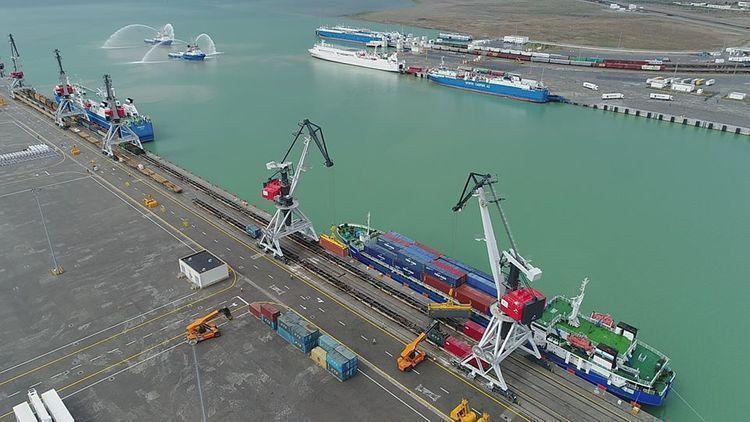 Bakı Limanının yük dövriyyəsi 17% artıb