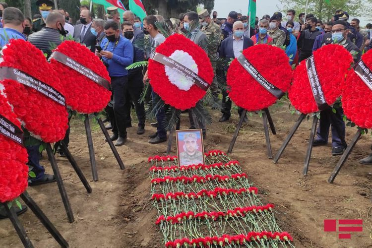 Martyred soldier Nurlan Abilov buried in Masalli - <span class=