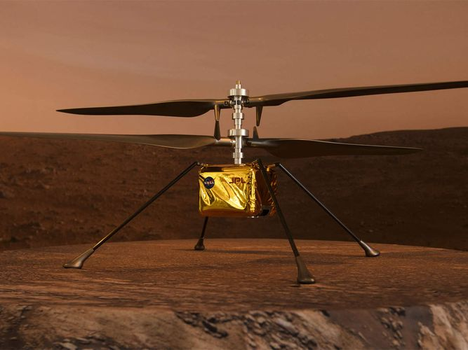 Nasa successfully flies small helicopter on Mars - <span class=