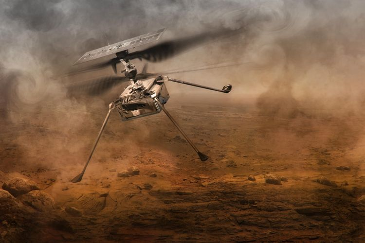 Nasa successfully flies small helicopter on Mars - <span class='red_color'>VIDEO</span> - <span class='red_color'>PHOTO</span>