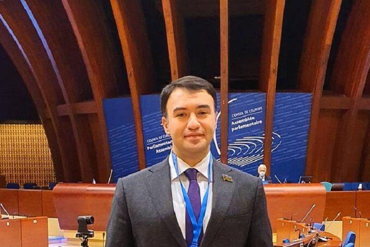 Азербайджанский депутат во время выступления в ПАСЕ обратился к армянам, проживающим в Ханкенди и Агдере