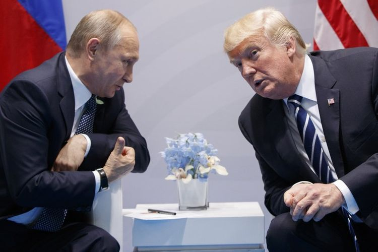 """Trump: """"I got along great with President Putin, I liked him, he liked me"""""""