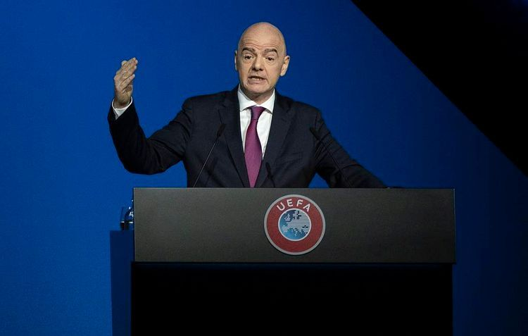 """FIFA """"strongly disapproves"""" of European Super League, says president Gianni Infantino"""