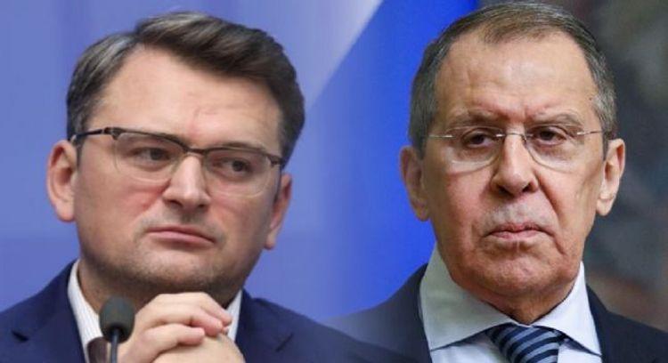 """Ukrayna XİN başçısı: """"Lavrov danışıqla bağlı təklifimə cavab vermir"""""""